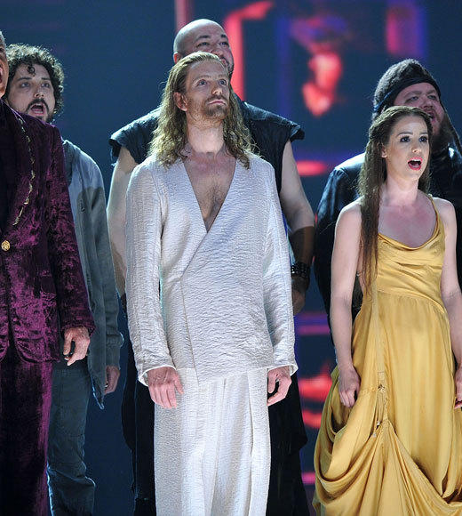 Tony Awards 2012: The Best and Worst moments: Its been more than 40 years since Andrew Lloyd Webbers musical made it to Broadway, and its still as gripping as ever. The performance of Superstar at Sundays (June 10) Tony Awards offered the same funky delivery weve come to expect accompanied by a full choral back up.  -- David Eckstein, Zap2it