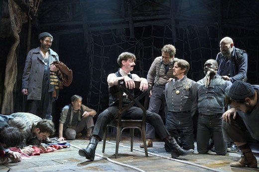2012 Tony Awards nominees and winners: John Lee Beatty, Other Desert Cities  Daniel Ostling, Clybourne Park  Mark Thompson, One Man, Two Guvnors  Donyale Werle, Peter and the Starcatcher (winner)