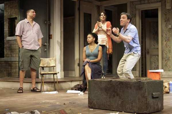 "A scene from ""Clybourne Park"" at the Mark Taper Forum."
