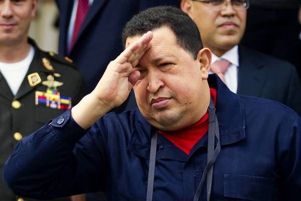 Venezuelan President Hugo Chavez, who has been in power 13 years, is facing a re-election battle and questions about his health.