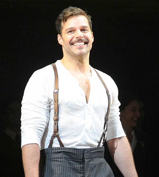 Tony Awards 2012: The Best and Worst moments: One time pop star Ricky Martin shows that hes got the chops to carry it on Broadway. Martin performed And the Money Kept Rolling In (and Out) from Evita during Sundays award show. And he did it with the swagger and bravado weve come to expect from him through the years.  -- David Eckstein, Zap2it