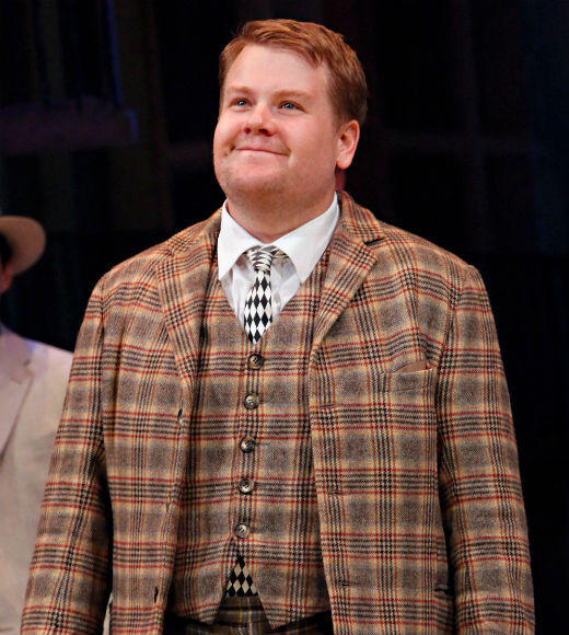 "<b>James Corden, ""One Man, Two Guvnors"" (winner)</b><br> Philip Seymour Hoffman, ""Arthur Miller's Death of a Salesman"" <br> James Earl Jones, ""Gore Vidal's The Best Man""<br> Frank Langella, ""Man and Boy""<br> John Lithgow, ""The Columnist""<br>"