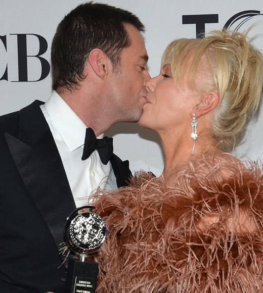 Tony Awards 2012: The Best and Worst moments: If Hugh Jackman was angling for an award for Husband of the Year in addition to the Special Tony he received on Sunday (June 10), hes well on his way. The frequent Broadway star was presented the award by his wife, Deborra-Lee Furness. During his acceptance speech, he says to Furness, I know how much you hate public speaking...This is probably the greatest thing youve ever done for me.  -- David Eckstein, Zap2it