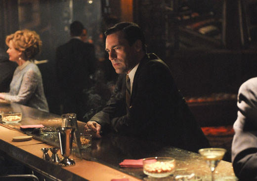Mad Men Season 6 character wish list: Where we left him: Sitting in a bar, with a choice to make.  Where we hope to find him: At home waiting for Megan who is either out of town on an acting gig or visiting mom and dad in Quebec. Since the timeline is usually advanced by at least a year each season, the likelihood of returning to that moment in the bar is low. So well get aftermath. Heres hoping Dons aftermath doesnt involve hiding a one night stand.