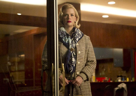 Mad Men Season 6 character wish list: Where we left her: Bam a lam.   Where we hope to find her: While January Jones may have been big (prosthetically) for Season 5, Season 5 wasnt big for her character. But we get the feeling Matt Weiner isnt done with Betty yet. Shes still eating her feelings and that has yet to be resolved.