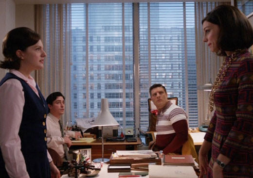Mad Men Season 6 character wish list: Where we left them: Scrambling to hold creative together in the wake of Peggys departure from the firm.   Where we hope to find them: Vying for the same job -- Peggys.