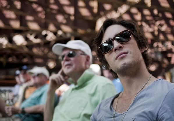 Actor Diego Boneta takes the Chicago Architecture Foundation River Cruise May 27, 2012.