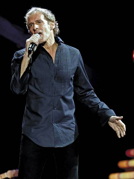 Singer Michael Bolton performs a charity concert June 19 at The Bushnell Center for the Performing Arts.
