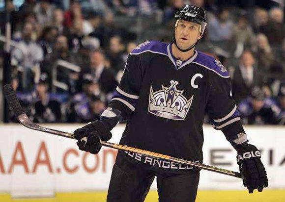 Rob Blake in 2008, during his second stint with the Kings.