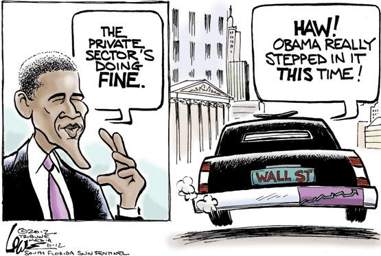 Obama's private sector gaffe