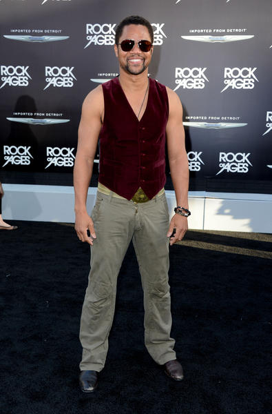 "Actor Cuba Gooding Jr. arrives at the premiere of ""Rock of Ages"" at Grauman's Chinese Theatre in Hollywood."