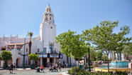 The reinvention of Disney California Adventure begins at the front gate with a new entry promenade designed to make you forget the missteps of the recent past while recalling the Golden State's golden age.