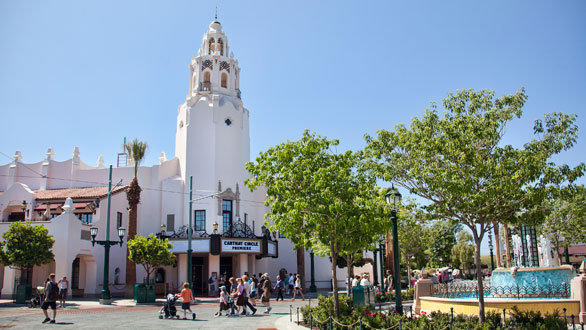 Carthay Circle restaurant on Buena Vista Street at Disney California Adventure