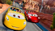 Radiator Springs Racers is the kind of ride nobody but Disney can do.