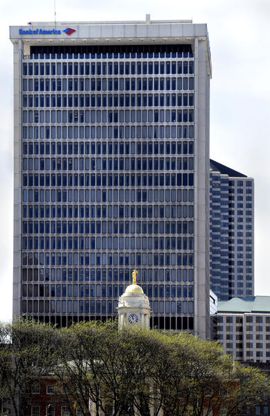 Bank of America Building (777 Main St.)<br> Hartford<br> 360 feet, 26 floors<br> Completed in 1967