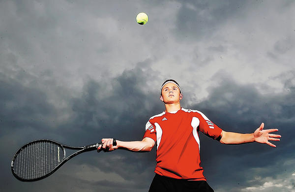 North Hagerstown's Max Ober is The Herald-Mail's 2012 Washington County Boys Tennis Player of the Year.