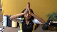 "PHL 17's Ashley Johnson ""Gets It Right, Gets It Tight"" at the Yoga Center in Medford.  Instructor Alaine Portner shows how yoga techniques can flatten your stomach and erase wrinkles on your face, so there's no need for cosmetic surgery.  She says yoga helps both your physical and mental appearance.  She goes over several facial exercises to help someone keep their youthfulness.  The popular yoga stance ""downward dog"" she says really uses the core muscles, which helps both stomach and leg muscles."