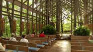 EUREKA SPRINGS, Ark. -- Thorncrown Chapel, an Ozarks treasure, sports a new look after 32 years.  Couples from around the world have been married there.  A special ceremony on Tuesday afternoon celebrates the improvements, which ensure this landmark touches lives for years to come.