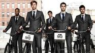 Male models in suits will ride bikes around downtown Chicago June 13 and 14, but they're not responding to last weekend's World Naked Bike Ride.