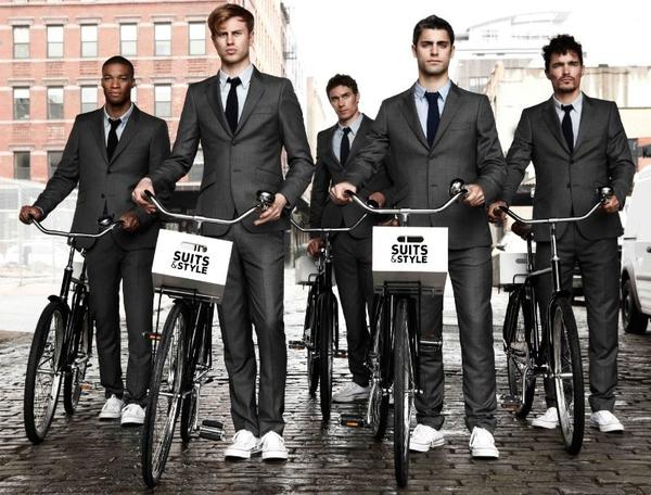 "An Army of Suitors will ride around Chicago Wednesday and Thursday to promote USA Network's ""Suits."""