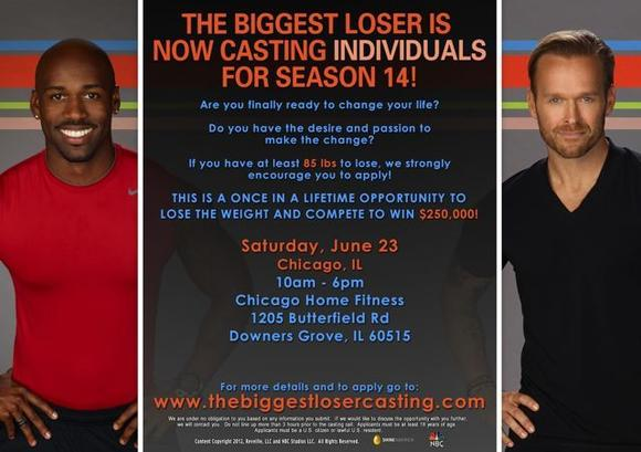 The Biggest Loser auditions