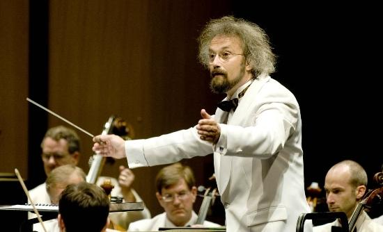 Carlos Kalmar, conductor for the Grant Park Music Festival Orchestra and Chorus.