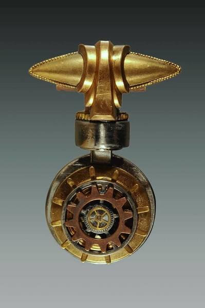 Steampunk jewelry by Ann Pedro.