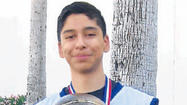 Joseph Balbuena, 14, of the Imperial Valley All-Stars 14-and-under basketball team won the Yuma Heat Classic this past weekend in Yuma.