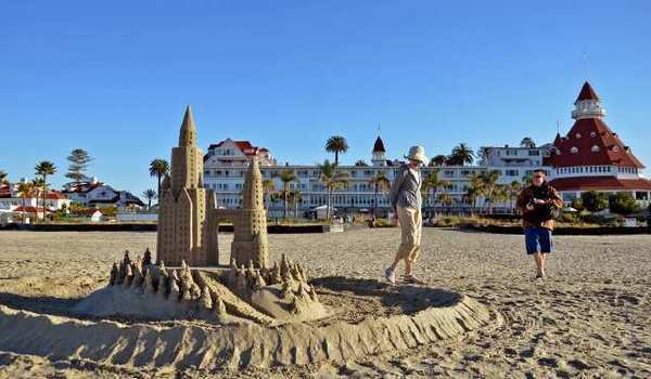 The Hotel del Coronado, open since 1888, is testament to San Diego's long vacation-land status.