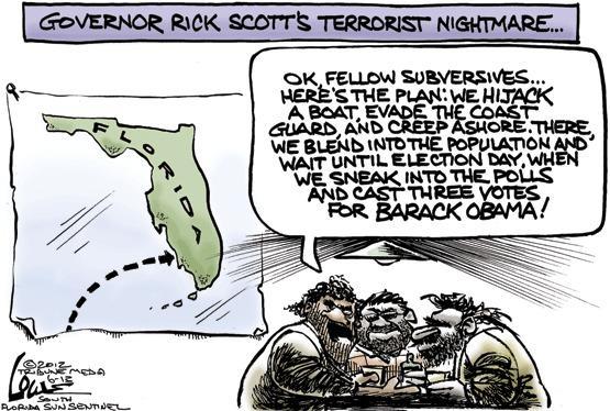 Governor Rick Scott's terrorist nightmare