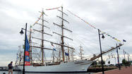 Pictures: Sailabration ships cruise in from Norfolk