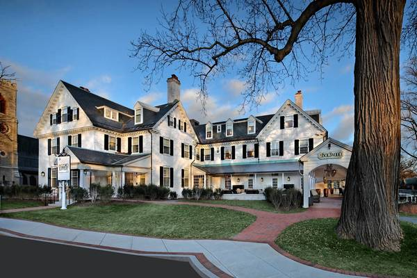 Since 1926, the Lord Jeffery Inn has been a landmark New England hotel on the campus of Amherst College.