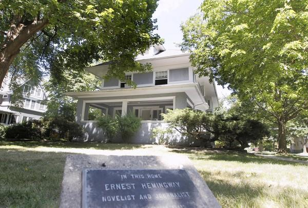 The boyhood home of Ernest Hemingway at 600 N. Kenilworth Ave., in Oak Park, has been sold to an Oak Park family that plans to restore the home and make it a single-family residence again. Plans by the Hemingway Foundation of Oak Park to turn the house into a cultural center never came to fruition.
