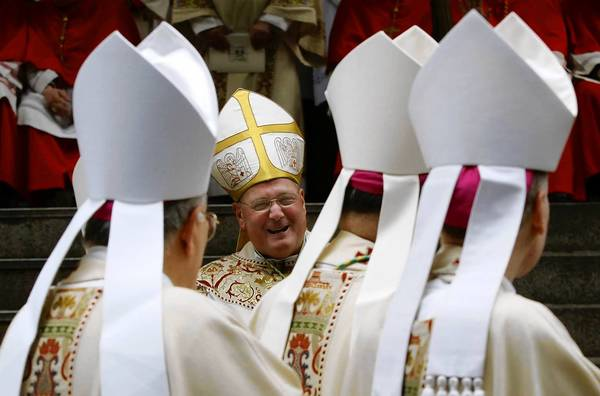 Cardinal Timothy Dolan of New York is leading Roman Catholic bishops in an effort to fight what they perceive as an assault by the Obama administration on religious liberty: the inclusion of contraception coverage in healthcare plans.