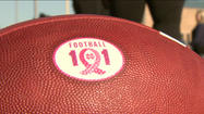 Football 101: Tackling breast cancer