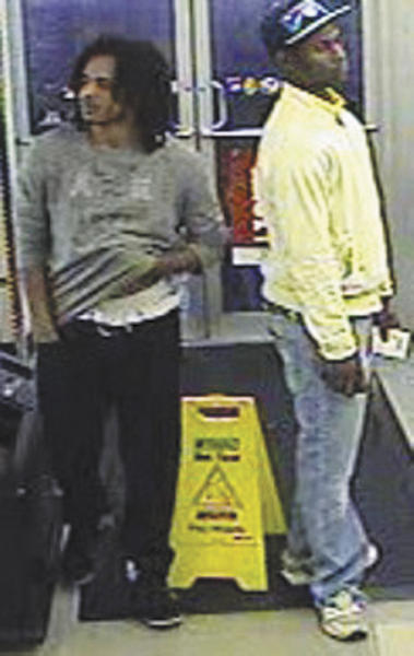 Hagerstown police are looking for these men and one other in connection with a robbery in an alley behind 42 Broadway.