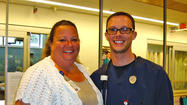 Jefferson Memorial Hospital recently chose Justin Campbell, LPN, a nurse in the emergency department, as the recipient of the DAISY Award For Extraordinary Nurses for the first half of 2012.