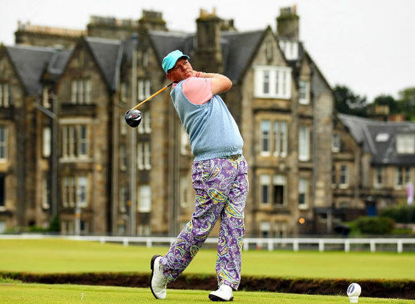 John Daly at the 139th British Open Championship in 2010 in St Andrews, Scotland.