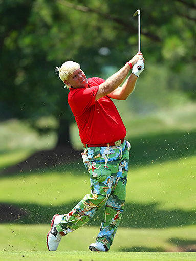 John Daly at the FedEx St. Jude Classic at TPC Southwind in Memphis, Tenn.