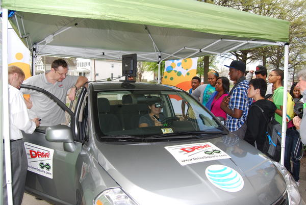 AT&T and Drive Smart Virginia hosted Texting While Driving Simulator events at high schools across Virginia earlier this year.