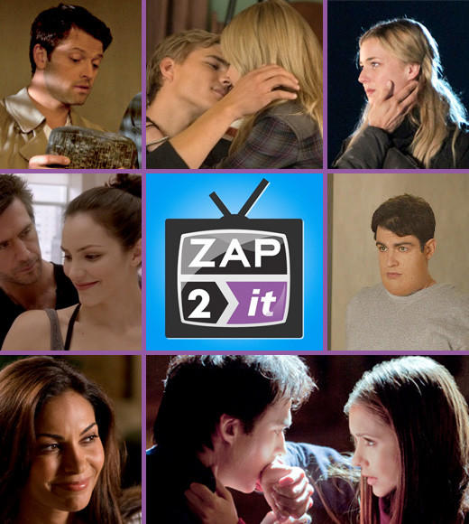 Zap2it Awards: Favorites from the 2011-2012 TV season: Welcome to the first annual Zap2it Awards! Now that the 2011-2012 television season is over, were taking a look at the best moments.   We let you, our readers, vote on the moments that defined the TV year -- and the couples, thanks to our giant shipper face-off. Click through the categories to find out who won the most awards in 2012!   --Carina Adly MacKenzie and Jean Bentley, Zap2it