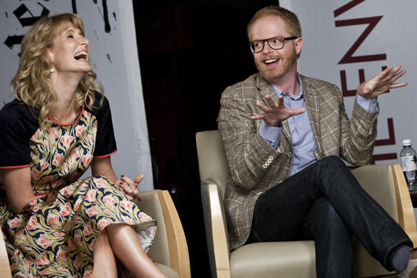 Laura Dern and Jesse Tyler Ferguson.
