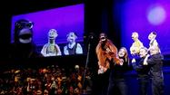 "THEATER REVIEW: ""Stuffed and Unstrung"" at the Bank of America Theatre ★★★ ... You'd think that in the presence of puppets - near Muppets, really - audiences would behave themselves, if only in deference to their innocent childhoods."