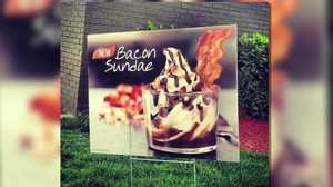 Burger King launches new bacon sundae