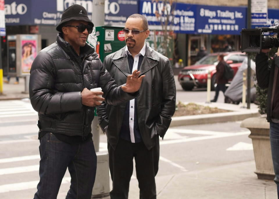 """Q-Tip and Ice-T in """"Something From Nothing: The Art of Rap."""""""