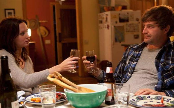 "Emily Blunt and Mark Duplass in ""Your Sister's Sister."""