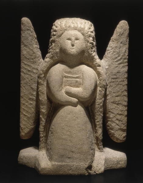 "William Edmonson's ""Angel"" is part of the ""Heaven   Hell"" exhibit at Intuit and Loyola University Museum of Art"