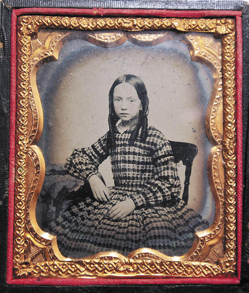 "The First Call Weekend exhibit at the Washington County Museum of Fine Arts features art and artifacts of the Civil War, including this contemporary image of Catherine Eva ""Kate"" O'Neal as a child. O'Neal was a witness to the Battle of Gettysburg nearly a year after the fighting at Antietam."