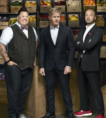 "Chef Gordon Ramsay (middle), restaurateur and wine maker Joe Bastianich (right) and Chef Graham Elliot (left) return as judges for the third season of ""MasterChef."" Meet their 18 finalists."