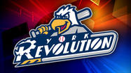 York Revolution manager Andy Etchebarren has been suspended for the team's next four games, a road series in Bridgewater, New Jersey against the Somerset Patriots.  The suspension